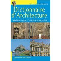 Gisserot - dictionnaire d'architecture