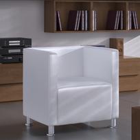 Vidaxl - Fauteuil Design Club Blanc