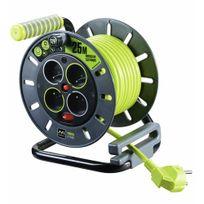 Luceco - Enrouleur électrique - câble - multiprises - Pro Xt - 25m
