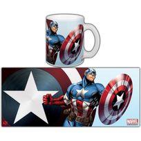 Semic Distribution - Mug Marvel Avengers Series 1 Captain America