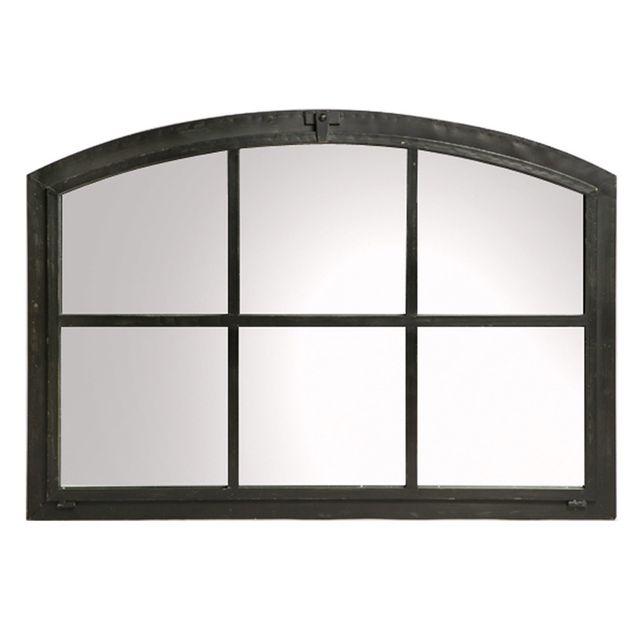 Sphere-inter Miroir fenêtre mural rectangulaire forme voûte L101cm Astral