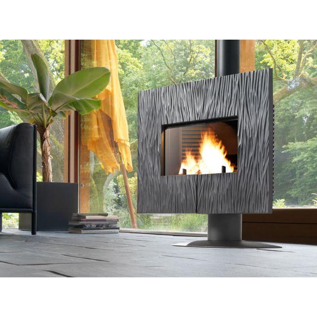 invicta po le bois en fonte gaya ardoise anthracite. Black Bedroom Furniture Sets. Home Design Ideas