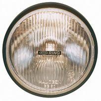 Ring - Rl020 - 2 projecteurs longue portée ronds Roadrunner 160x160x70mm