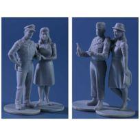 Master Box - Figurines 2ème Guerre Mondiale : Victoire en Europe 1945