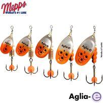 Mepps - Cuiller Aglia-e Argent Orange