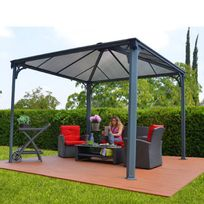 Chalet & Jardin - Tonnelle Couv' Terrasse 3,6x3,6m