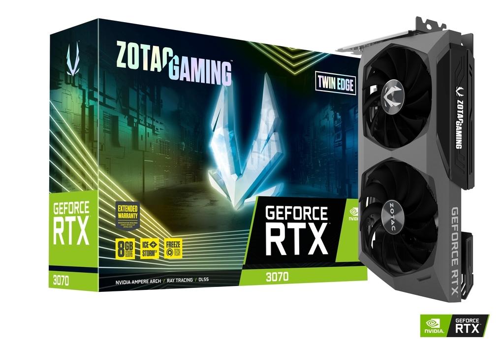 Carte graphique GeForce RTX 3070 Twin Edge 8 Go Zotac