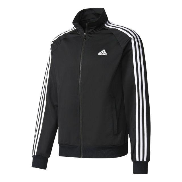 Adidas Veste Essential 3S Noir XXL pas cher Achat
