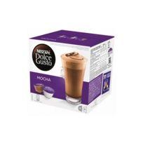 Dolce Gusto - Capsules de café avec étui Nescafé 49523 Mocha 16 uds