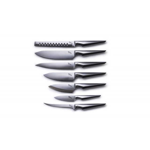 Edge Of Belgravia Set complet de 7 couteaux Arondight Acier