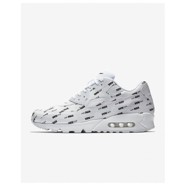 wholesale dealer db993 26bd4 Nike - Nike Air Max 90 Premium - Age - Adulte, Couleur - Blanc,
