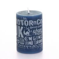Comptoir des bougies - Bougie votive avec motifs - Indigo