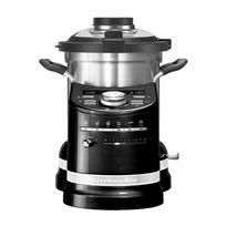 KITCHENAID - robot cuiseur multifonctions 4.5l 1550w noir - 5kcf0103eob