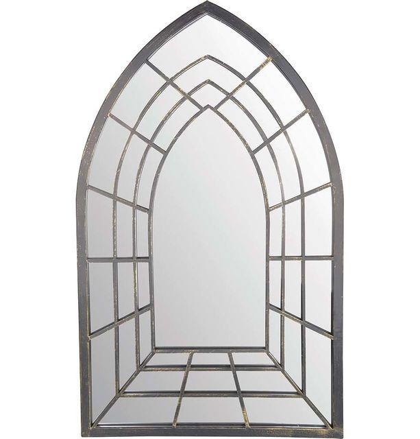 ESSCHERT DESIGN Miroir trompe l'oeil Gothique