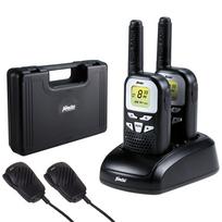 Alecto - Jeu de jumeaux talkie-walkie Fr-76 avec boîtier noir