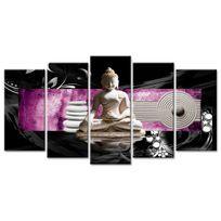 Declina - Tableau deco zen statue bouddha - Tableau sur toile imprim?e