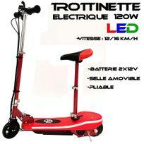 Jm Motors - Trottinette electrique Led 120w Design Rouge