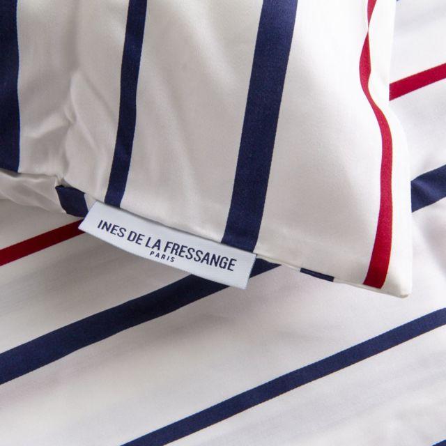 Taie doreiller Lina 50x70cm Bleu Paris Prix