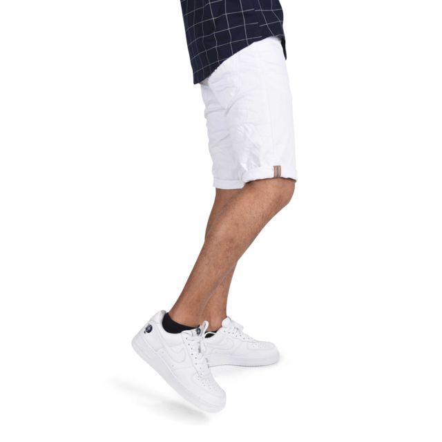 Project X - Short avec ceinture beige inclus Homme Paris - pas cher Achat    Vente Short homme - RueDuCommerce c514f254a35