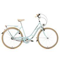 KS CYCLING - Vélo de ville femme 28'' 3 vitesses Casino bleu TC 54 cm