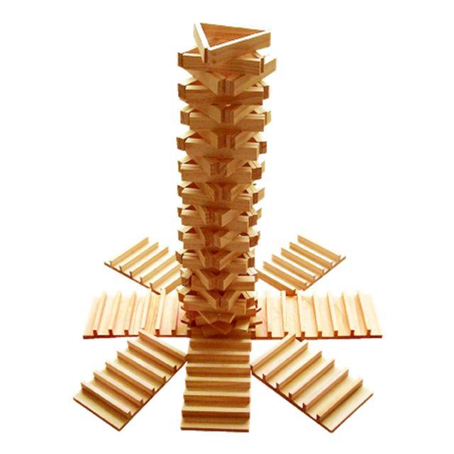 Okoia Jeu de construction en bois : Empiplak