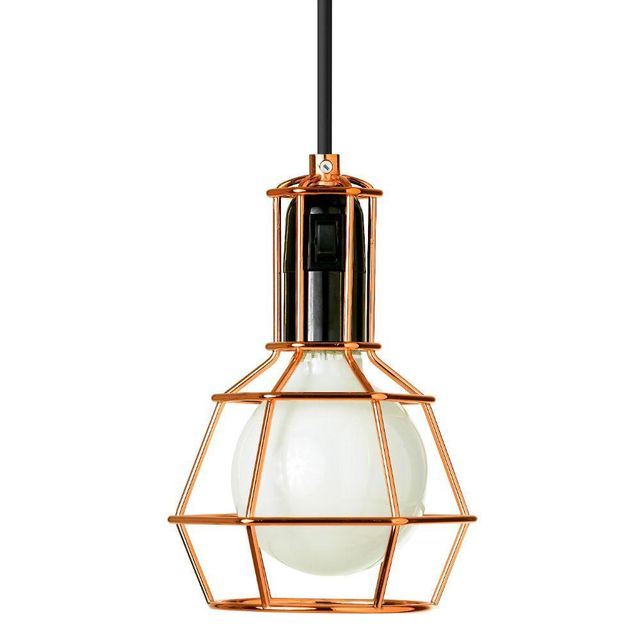 Design House Stockholm Work Lamp - Lampe Baladeuse Cuivre H21cm - Lampe à poser Design Stockholm House designé par Form Us With Love