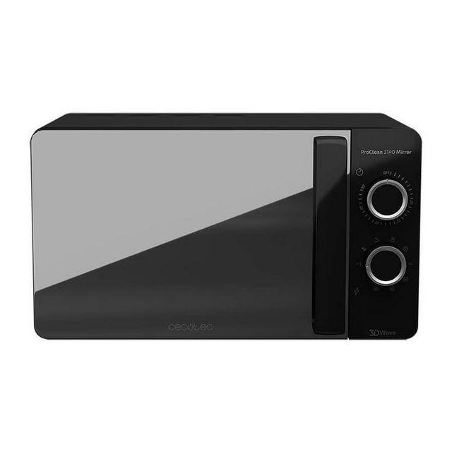 Cecotec Micro-ondes avec Grill ProClean 3140 20 L 700W Noir