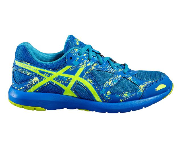 asics gel lightplay bleu