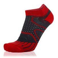 S8X - Chaussettes Trail Micro noir rouge