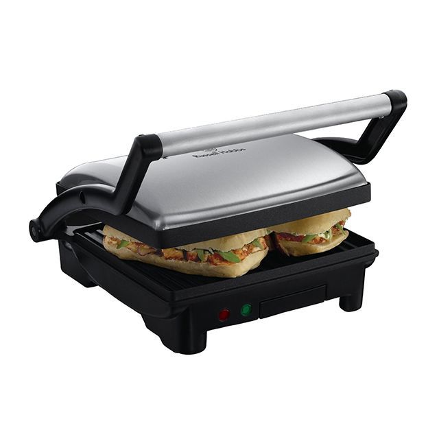 RUSSELL HOBBS grille-viande et panini 1800w 530cm² ouverture 180° - 17888-56