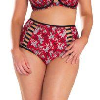 Curvy Kate - Bas de maillot de bain Culotte haute Maya Rouge