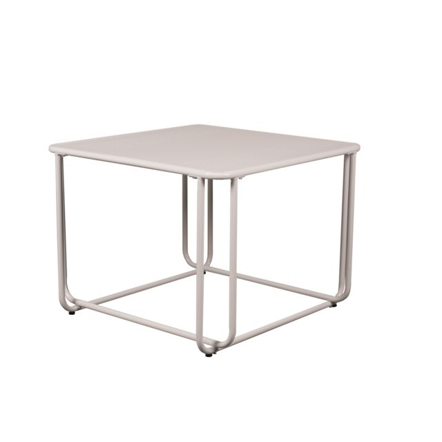 Kit A Faire Table basse design blanche carré