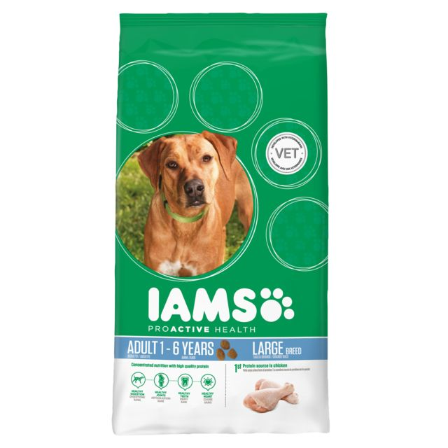 Iams Chien Adult Large Breed Poulet