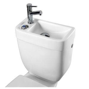 planetebain r servoir avec lave mains int gr pas cher achat vente wc rueducommerce. Black Bedroom Furniture Sets. Home Design Ideas