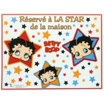 Betty Boop - Set De Table Licence Réservé à La Star De La Maison