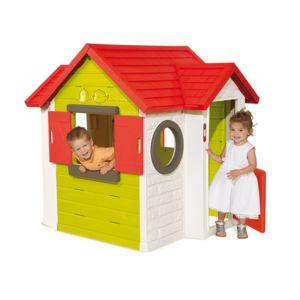 smoby cabane enfant my house pas cher achat vente. Black Bedroom Furniture Sets. Home Design Ideas