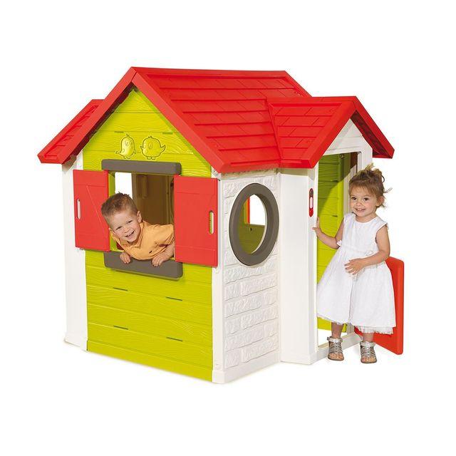 Smoby cabane enfant my house pas cher achat vente - Maison d enfant pour jardin ...