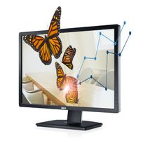 "DELL - Moniteur UltraSharp 24 U2412M - 61cm 24"", Noir"
