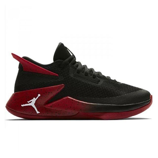 photos officielles d51e8 1f42f Jordan - Chaussure de Basketball Fly Lockdown Rouge pour ...