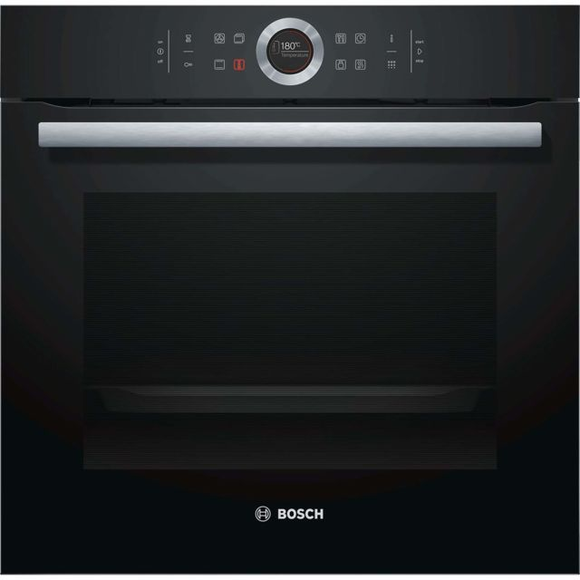 Bosch four intégrable 71l 60cm a+ pyrolyse noir - hbg672bb1s