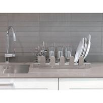 Don Hierro - Égouttoir à vaisselle en Acier Inoxydable Aqua