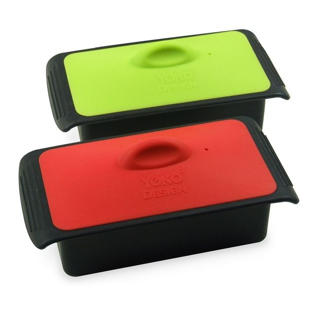 YOKO DESIGN Terrine en silicone grand modèle Rouge