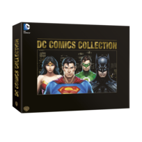WARNER BROS - coffret l'age d'or dc comics