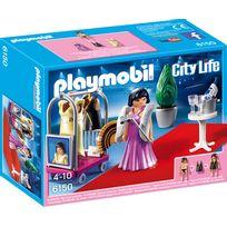 PLAYMOBIL - CITY LIFE - Top modèle avec tenues de soirée - 6150