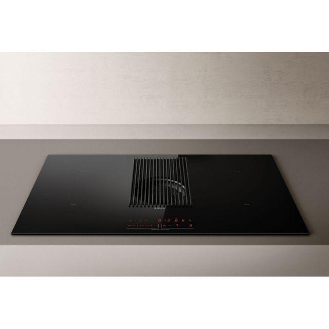 ELICA table de cuisson aspirante à induction 83cm 4 feux 7400w noir - prf0143159