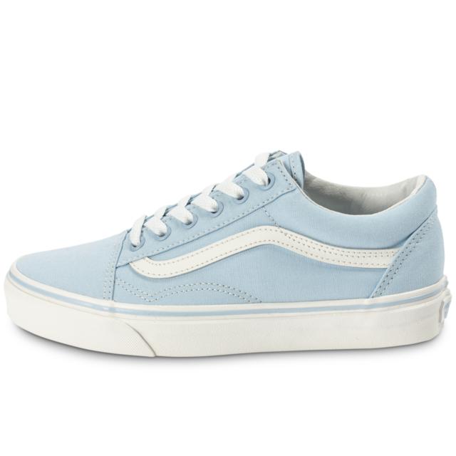 vans old skool femme bleu clair