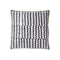 Declikdeco - Le Coussin Blanc Strié Noir 45X45 Edele est un élément décoratif important pour votre canapé ou votre fauteuil. Le Coussin Blanc Strié Noir 45X45 Edele donnera un aspect moelleux et vous donnera encore plus envie de profiter de votre canapé. Caractéristi