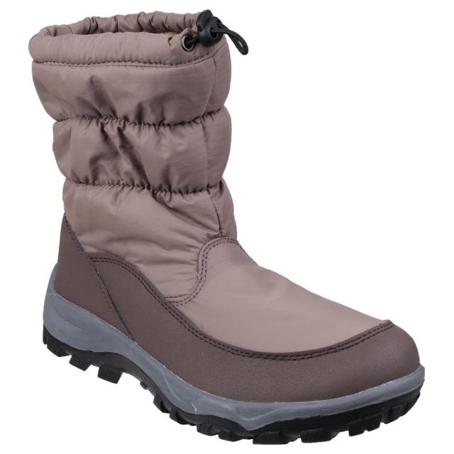 Cotswold Polar Bottines de neige imperméables Femme 37 Eur, Marron Utfs2868