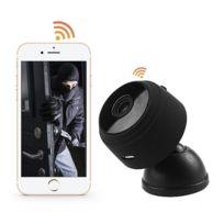 Wewoo - Caméra Ip WiFi A9 Hd 720P Mini de surveillance WiFi sans fil à distance Ip numérique, Alerte de détection de mouvement de soutien et de vision nocturne carte Tf Max 64 Go