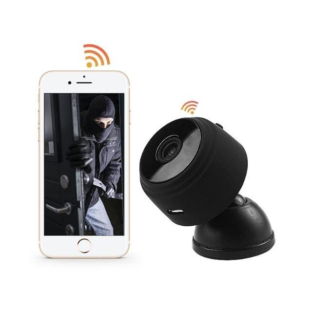 wewoo cam ra ip wifi a9 hd 720p mini de surveillance wifi sans fil distance ip num rique. Black Bedroom Furniture Sets. Home Design Ideas
